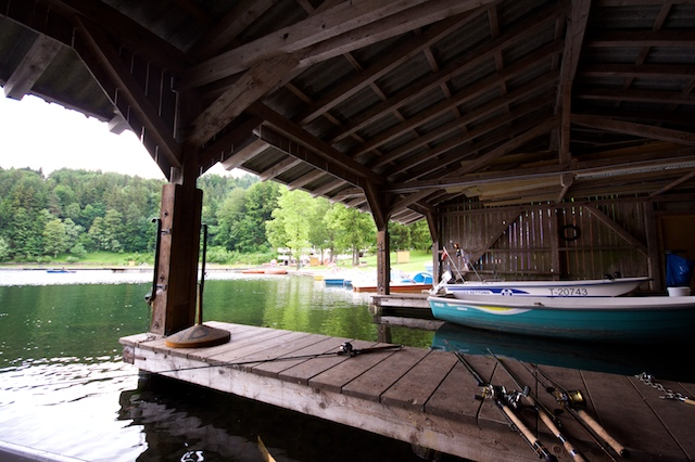 Bootshütte Hechtsee