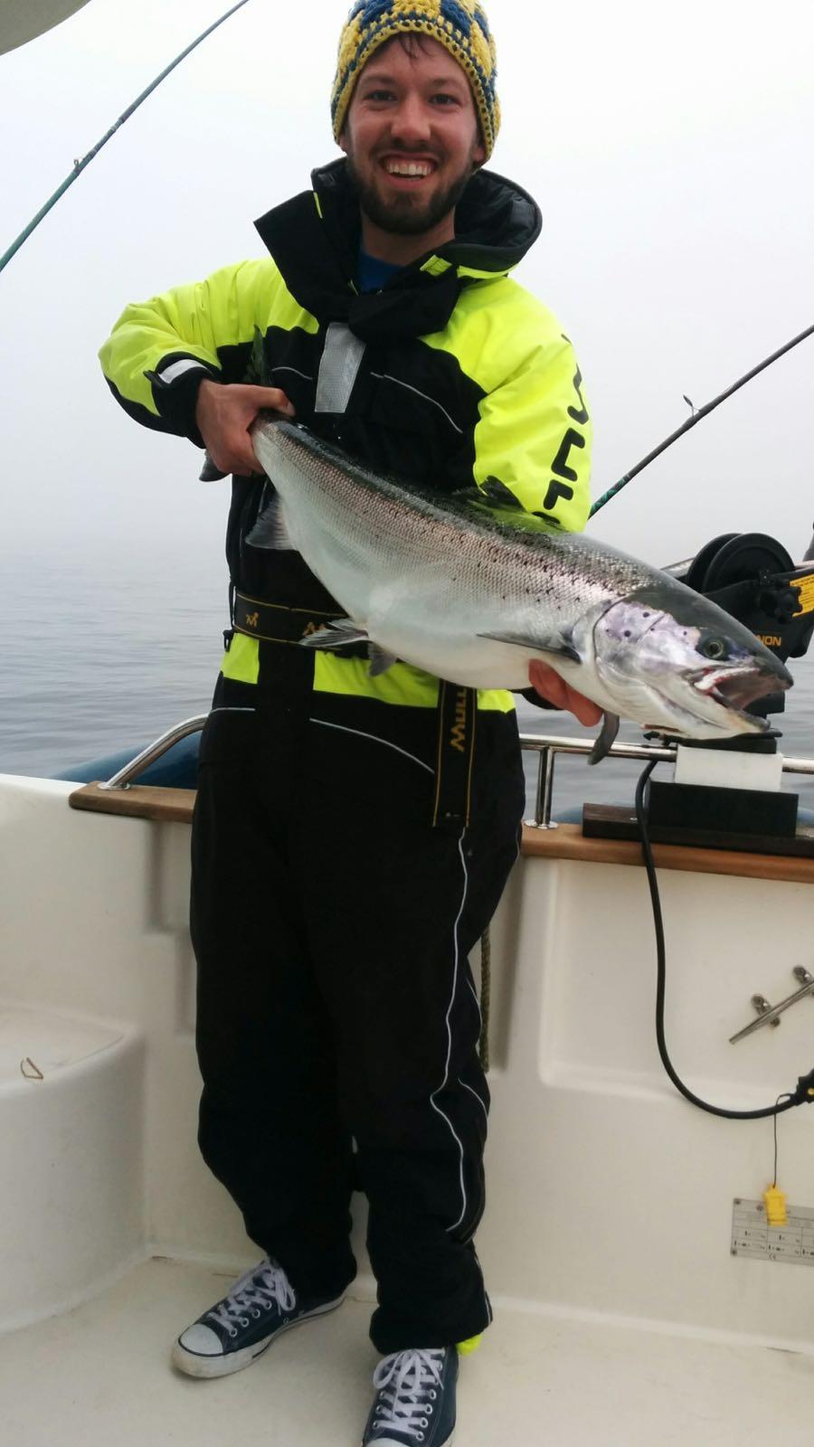 Lachstrolling auf der Baltic Fisher 2016