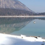 Walchensee im Winter 2