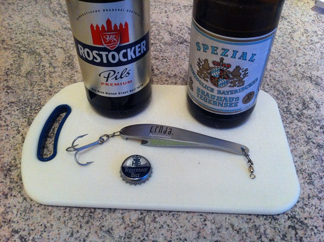 Lachs-Opening
