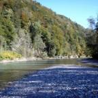 Goldener Oktober an der Tiroler Achen