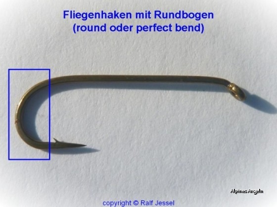 Materialkunde: Fliegenhaken