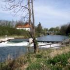 Mangfall-Wehr bei Vagener See