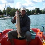 3.Platz beim Königsfischen 2009 mit 67er Wörthsee-Hecht