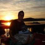 Sonnenaufgang am Wörthsee mit Patrick