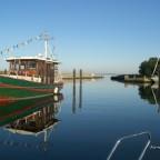 Ausfahrt Hafen Lippe