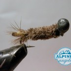 Peeping Caddis Upside Down