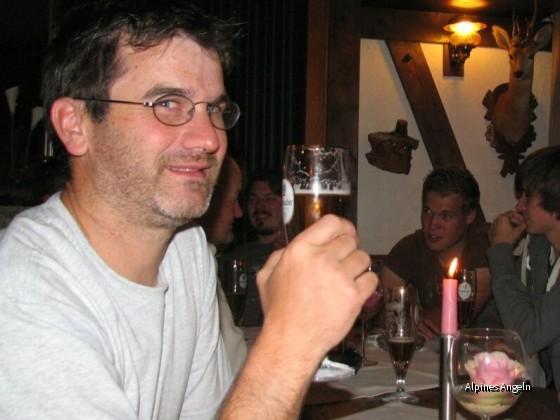 Schorsch beim Bier