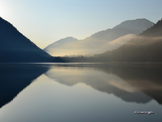 Morgennebel am Plansee 2011
