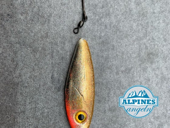 2 Neuer Köder für das Seeforellenfischen im Freiwasser