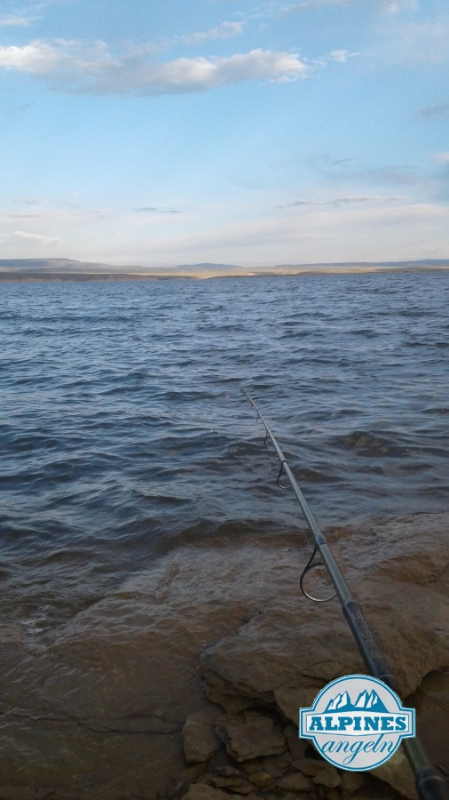 Hegene fischen in Wyoming