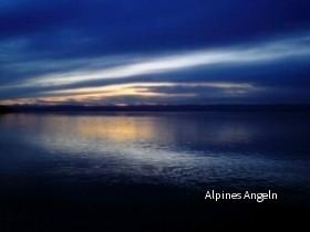 Sonnenuntergang Herrschinger Bucht