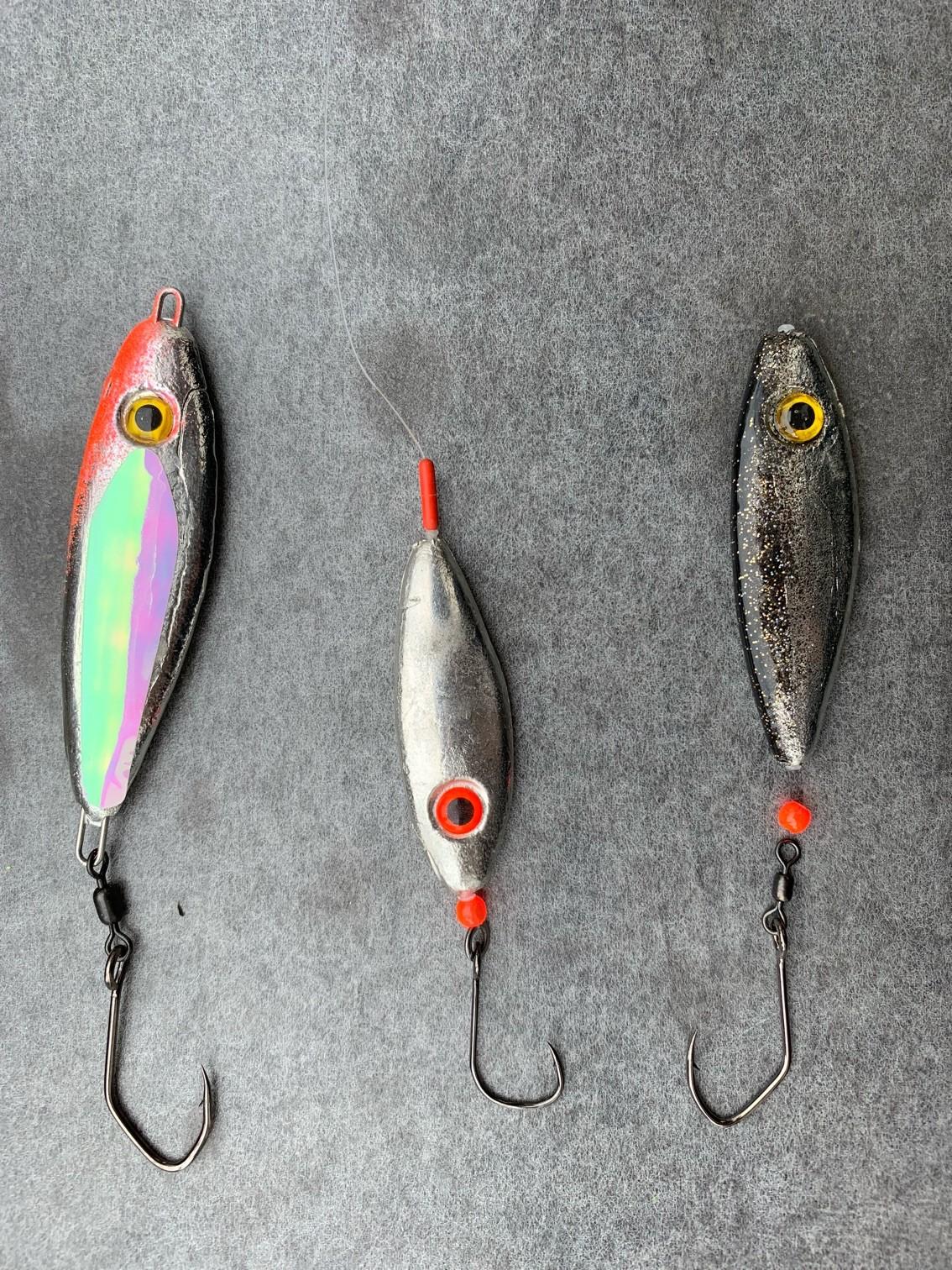 9 Neuer Köder für das Seeforellenfischen im Freiwasser