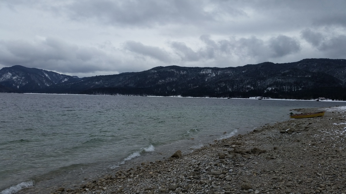 Walchensee März 2015