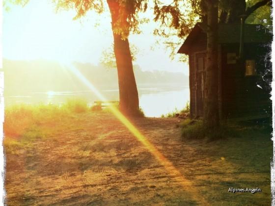 Mit der Angelrute auf Reisen: Ostsee, Inn, Bachforelle